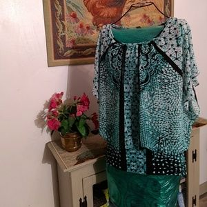 Flowy summer blouse